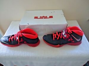 Lebron-James-Nike-Zoom-Soldier-VII-PP-Size-11-5-Athletic-Shoes-034-IOB-034