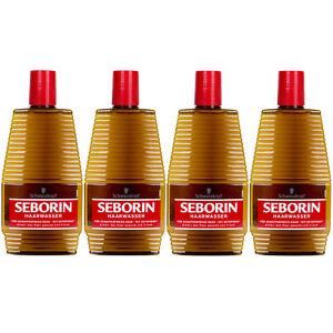 Schwarzkopf Seborin Haarwasser für schuppenfreies Haar 4 x 400 ml - Wittmund, Deutschland - Schwarzkopf Seborin Haarwasser für schuppenfreies Haar 4 x 400 ml - Wittmund, Deutschland