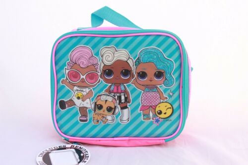 L.O.L Surprise lol Girls School Book bag Backpack Lunch Box Set Doll Kids Gift