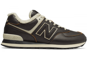 new balance 574 marron homme
