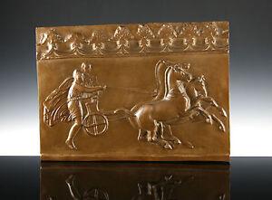Grosses-Relief-Pelops-amp-Hippodameia-Museumsreplik-Stuck-Griechenland-Mythologie