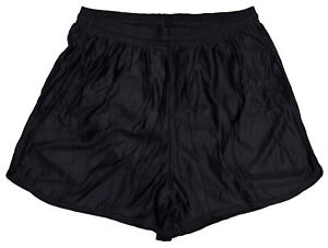 Black-Nylon-Running-Track-Shorts-by-Don-Alleson-Men-039-s-2XL