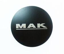 1 X MAK Kappe Zentrum Rad AUFKLEBER 68 mm Schwarz Bimmer Munchen MB 802000120