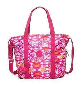NEW-Authentic-KIPLING-Allena-TM5205-Gym-Tote-Shoulder-Crossbody-Bag-Hibiscus-99