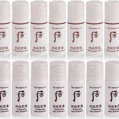 The history of Whoo Whitening Lotion Skin Balancer 20pcs 120ml Korean Cosmetics