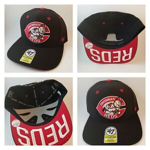huge selection of dae58 9a28b Image is loading NWT-Cincinnati-Reds-47-Hat-Cap-Red-White-