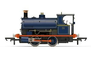Hornby-R3679-00-Gauge-Class-w4-0-4-0T-Peckett-loco-Port-of-London-Authority
