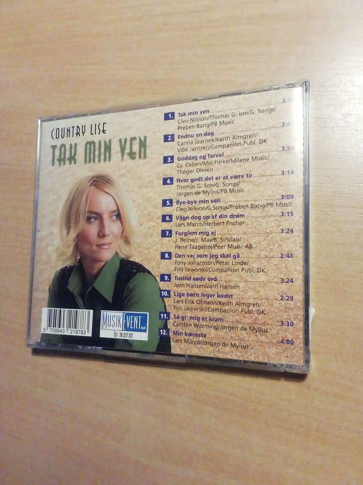 Country Lise: Tak min ven, andet