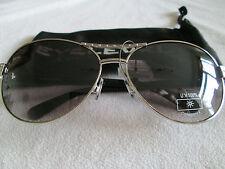 Eyelevel Platinum Tyra sunglasses. Black / silver / diamante. New.