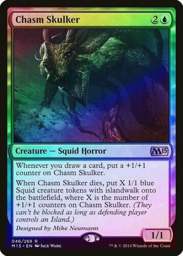 Chasm Skulker FOIL Magic 2015 M15 PLD Blue Rare MAGIC MTG CARD ABUGames