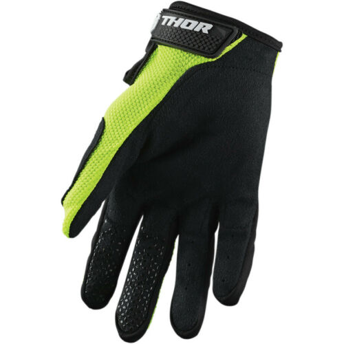 Black Thor Sector S20 Gloves OffRoad MX Motocross Enduro MTB BMX Acid Yellow