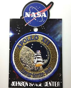 NASA-APOLLO-XII-12-MISSION-PATCH-Official-Authentic-SPACE-4in