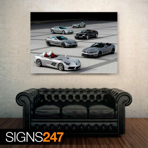 0538 Picture Poster Print Art A0 A1 A2 A3 A4 Car Poster MERCEDES BENZ SLR