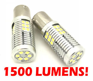 High-Power-Reverse-Light-Bulbs-30-LED-Canbus-P21W-For-Nissan-Micra-MK4-K13-10-On