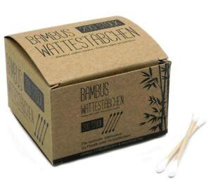 800Stk-Bambus-Wattestaebchen-4x200-Gesichtspflege-Ohrstaebchen-Bambuswattestaebchen