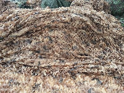 """Desert Digital Camouflage Camo Netting Camping Military Hunting Tent 39*78"""" 1X2M"""