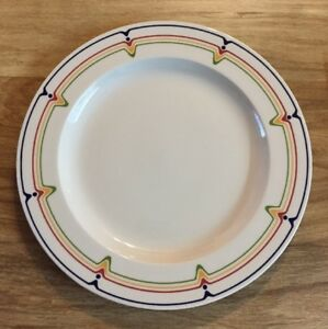 Image is loading Adams-China-England-11-Dinner-Plates-JAZZ-Pattern- & Adams China England 11 Dinner Plates JAZZ Pattern Hard to Find   eBay