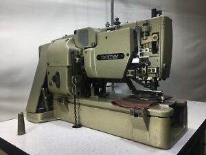 brother lh4 b814 4 lockstitch button hole industrial sewing machine rh ebay co uk brother lh4-b814-2 instruction manual Brother SC9500 Computerized Sewing Machine Manual