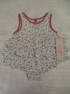 Baby & Toddler Clothing Knitted Baby One Piece Romper For Newborns To 6 Months In White