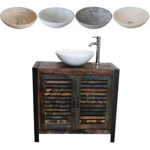 Image Is Loading Reclaimed Wood Bathroom Unit 2 Door With Stone