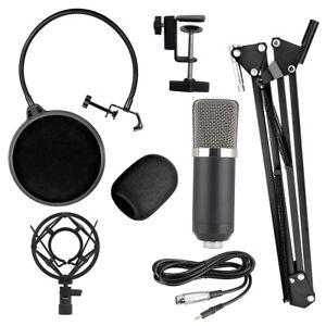 BM700-Profi-Studio-Mikrofon-Set-Sound-Aufnahme-Rundfunk-Kondensatormikrofone-KTV