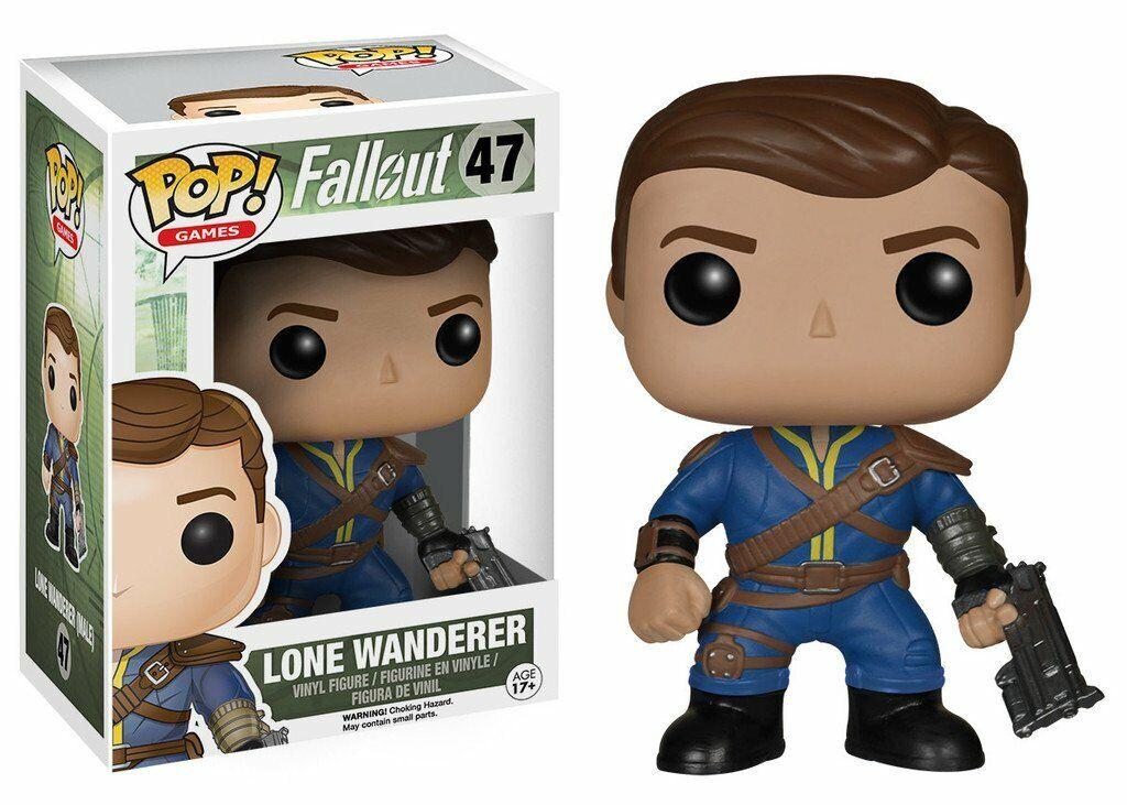 Figurine FUNKO POP Fallout - Lone wanderer - RARE - - - NEUVE b734f1