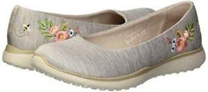 Women-Skechers-Microburst-Botanical-Paradise-Sneaker-23347-Color-Taupe-Brand-New
