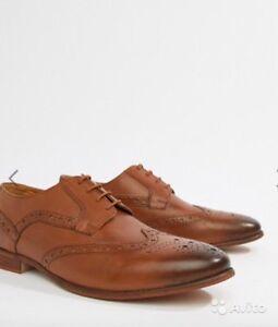 leather men shoes, size