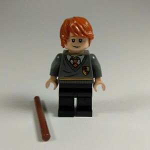 Lego Harry Potter Minifigure w// Flippers from Set 4762 100/% REAL