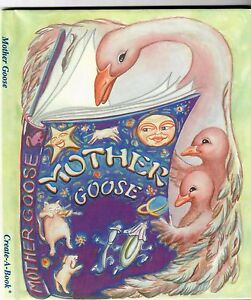 Image Is Loading Personalized Children Book Mother Goose Nursery Rhymes