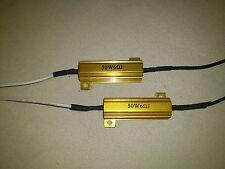 2x Lastwiderstand, für LED Blinker und Nebelscheinwerfer 50W 6 Ohm - Seitronic®
