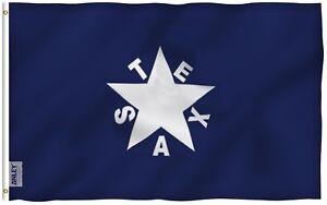 ANLEY-Lorenzo-de-Zavala-Flag-Republic-of-Texas-Banner-Polyester-3x5-Foot-Flags