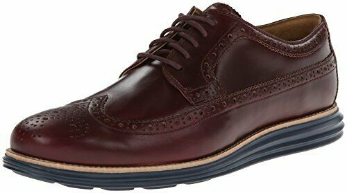 Cole Haan Men's Lunargrand Longwing Oxford,Burgundy C13212