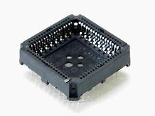 Lot x10 - support ci PLCC 68 points (4x17pts) traversant