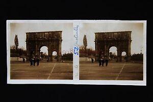 Italia-Roma-Basilica-San-Paul-Targa-Stereo-Positive