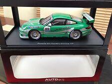 AUTOART 1:18 PORSCHE 911 (997) GT3 CUP 2006 (VIP/GREEN LIVERY) VERY RARE!!