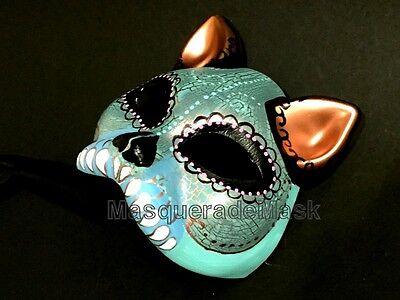 Halloween kitty cat mask D de Muertos unisex dress up dance costume party