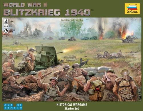 Blitzkrieg 1940 histórico wargame Starter Set ZVE 6192
