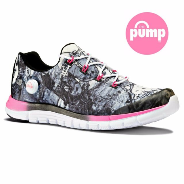 5e7101959732 Reebok Z Pump Fusion Splash Womens Running Shoe Trainers Gym Free Postage