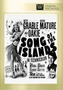Chansons-de-The-Islands-DVD-1942-Betty-Grable-Victor-Mature-Jack-Oakie-Walter