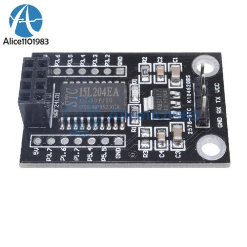 5PCS MCU STC15L204 Wireless Development Board NRF24L01+UART Interface 5-3.3V
