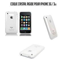 COQUE HOUSSE CRISTAL TRANSPARENTE RIGIDE IPHONE 3G / 3GS
