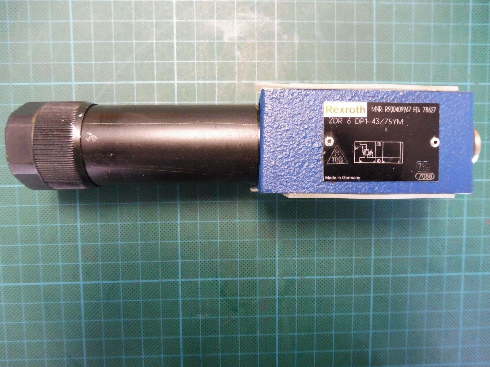 1 x Rexroth druckreduzierventil ZDR 6 dp1-43//75ym; mnr r900409967