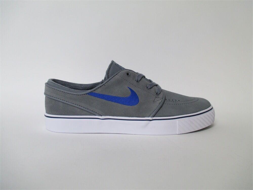 Nike SB Zoom Strefan Janoski Cool Grey Squadron Blue White Sz 9 333824-046