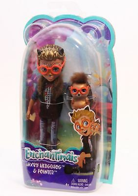 2017 ENCHANTIMALS HIXBY HEDGEHOG /& POINTER VERY HARD TO FIND !!