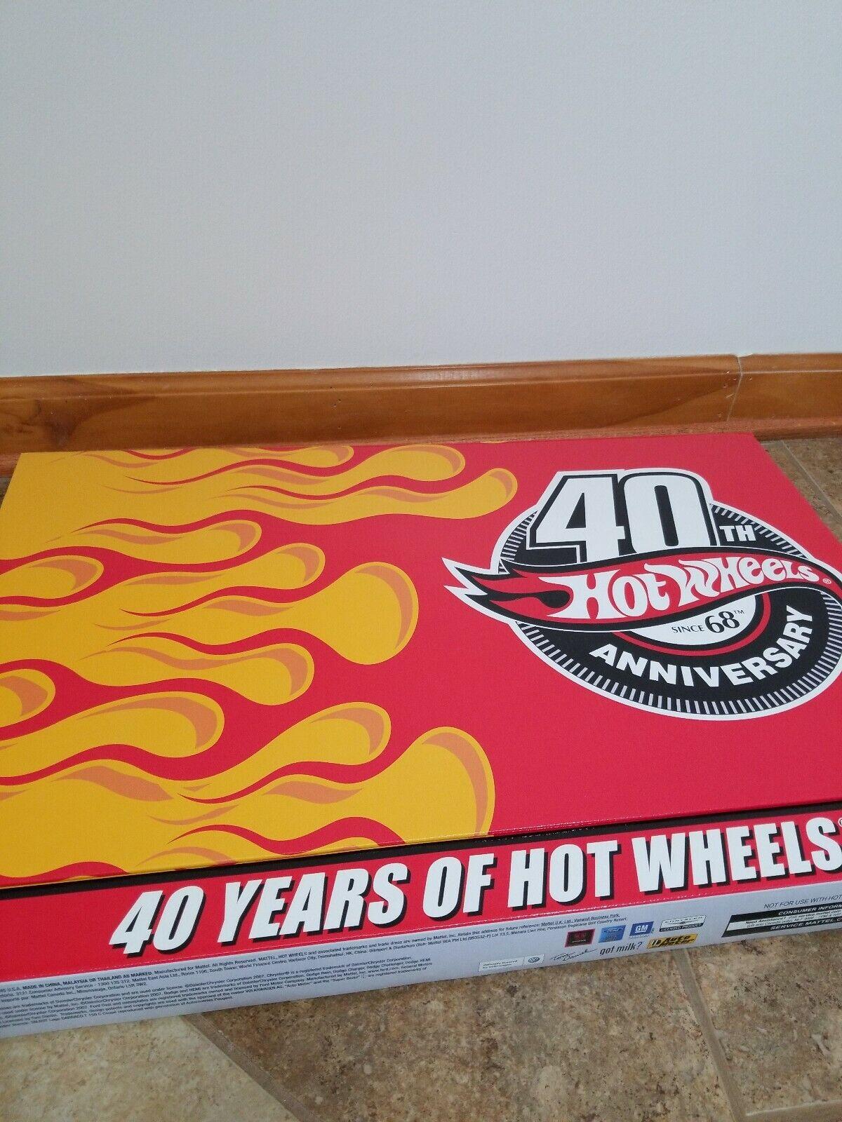 40 years of Hot Wheels anniversary set