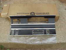 1968 Dodge Full-Size NOS MoPar RADIO - HEATER BEZEL Polara Monaco