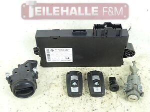 BMW-E61-E60-LCI-Schlosssatz-CAS-3-Steuergeraet-Funkschluessel-9147195