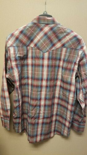 Pendleton Men/'s Long Sleeve Button Front Classic-Fit Frontier Shirt Large