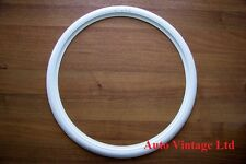 """19""""Motorcycle whitewall tyre trims, white wall flaps 19"""", set of 4"""